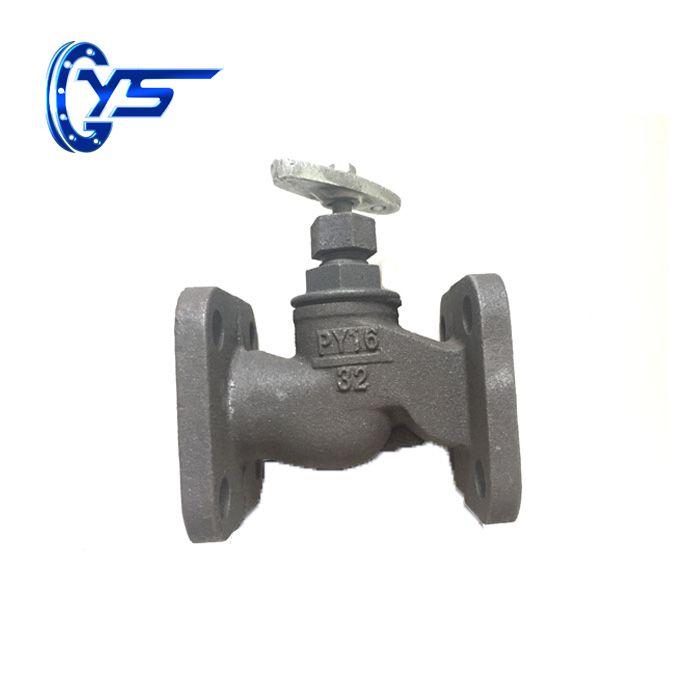 DN 15-200mm Square Flange Globe Valveglobe valve manufacturer