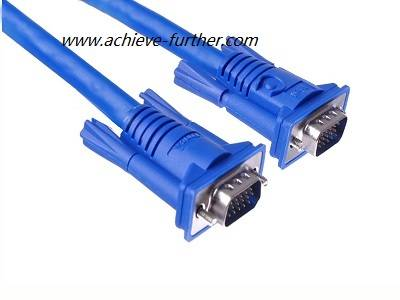standard & extentional HD15 Pin Male to Male VGA Cable