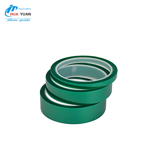 China industrial masking brand tape flame resistant PET high temperature tape