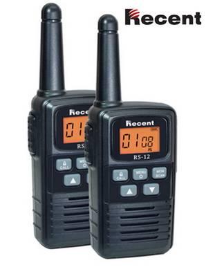 RS-12 License Free FM Transceiver Two-way radio Handheld radio