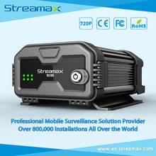 6 Channels HD Mobile DVR Streamax X3-H0204 with GPS, 3G/4G and WIFI