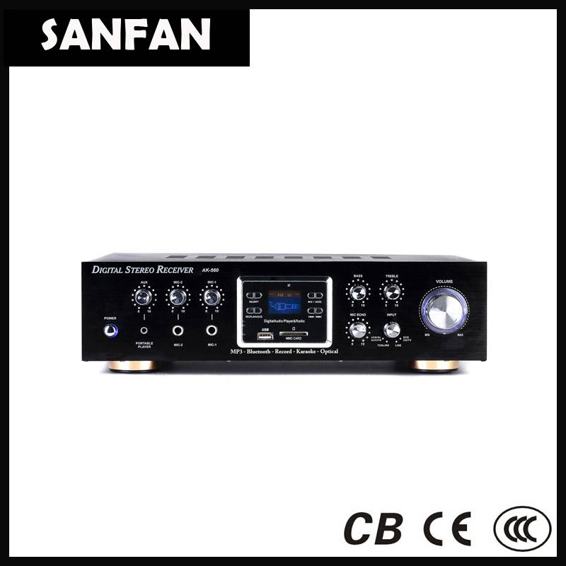 mini amplifier with Bluetooth receiver function