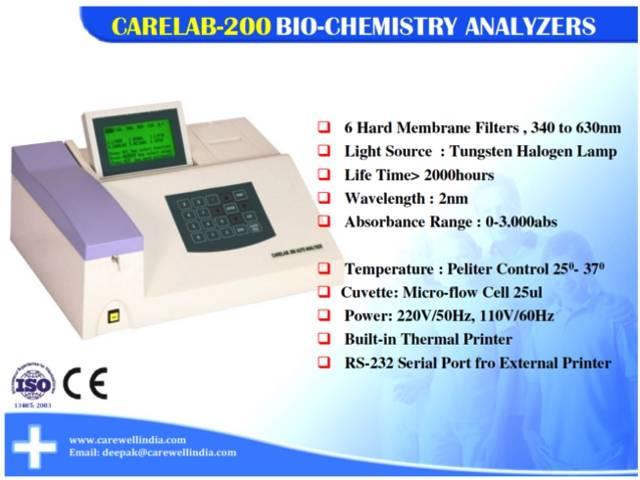 CARELAB® Biochemistry Analyzer