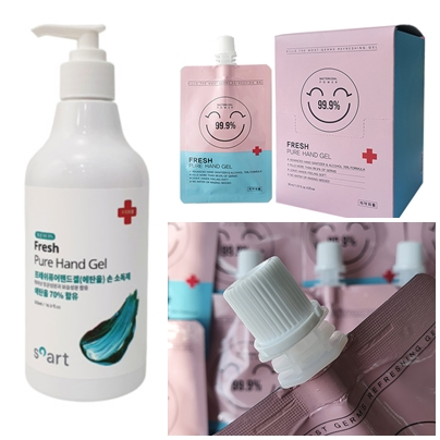 Fresh Pure Hand Sanitizer in Korea (70% Alcohol)