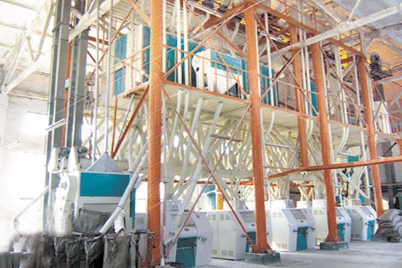 corn mill machinery