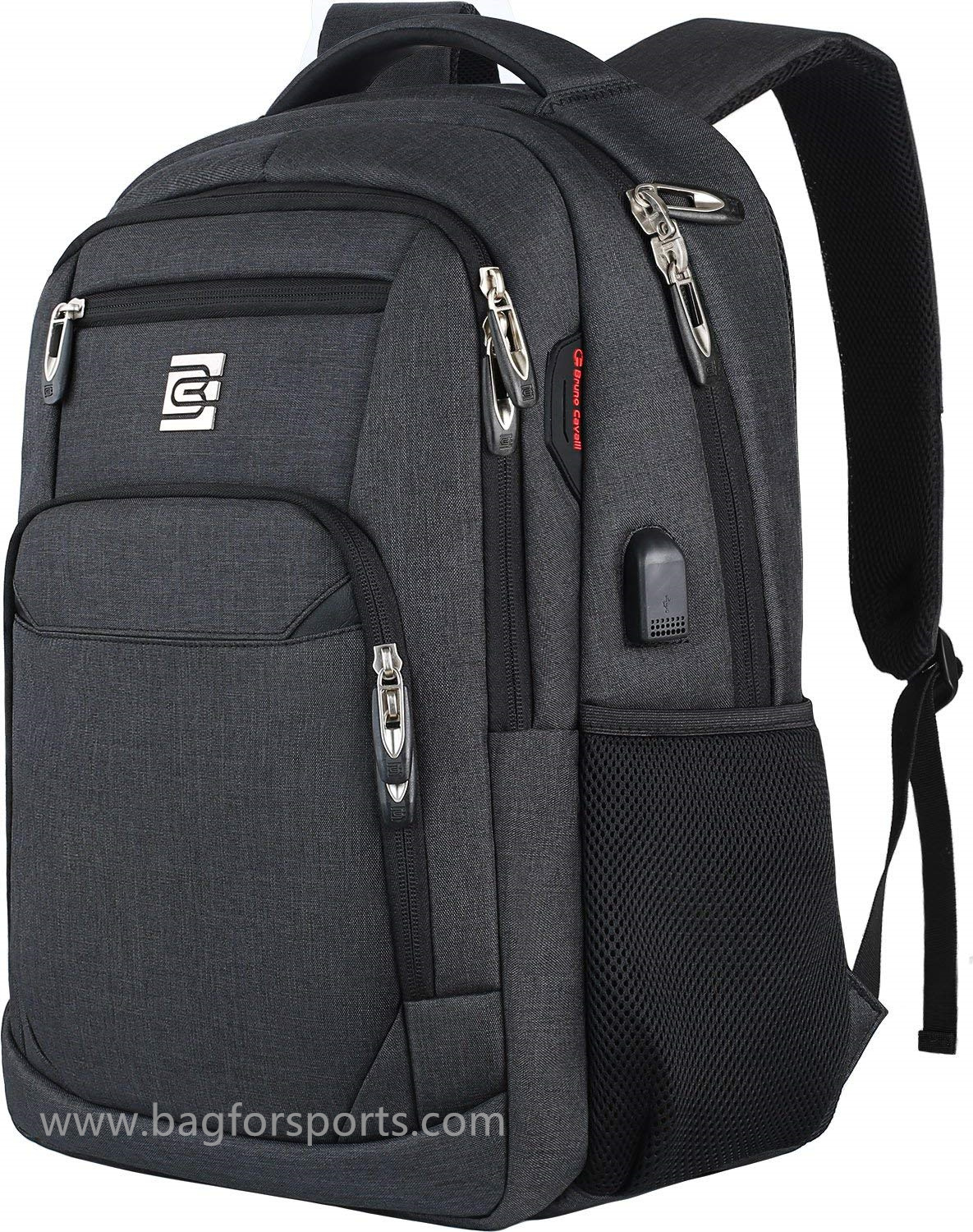 Laptop Backpack Business Travel Anti Theft Slim Durable Laptops Backpack with USB Charging Port,Wate