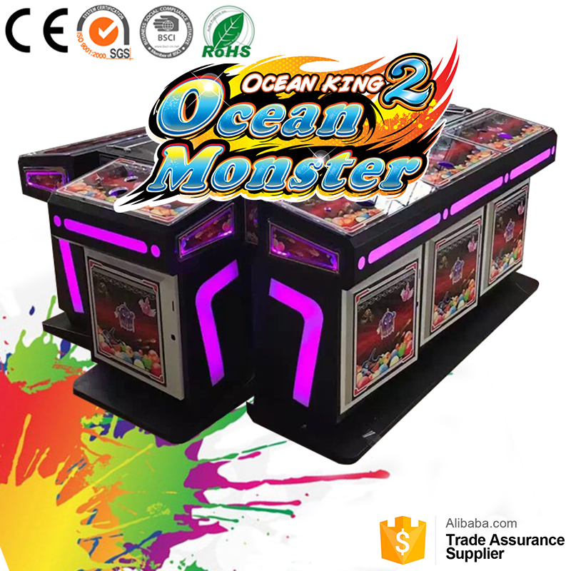 8Player 55inch Hunting fish game machines on sale