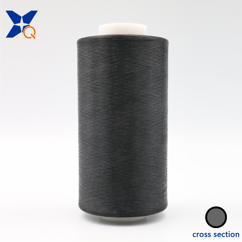 XTAA184 Carbon conductive ESD nylon filament 20D/3F intermingling with 75D black FDY PL