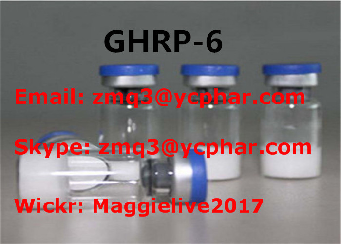 Weight Loss Peptides Ghrp 6 Peptide White Powder CAS 87616-84-0