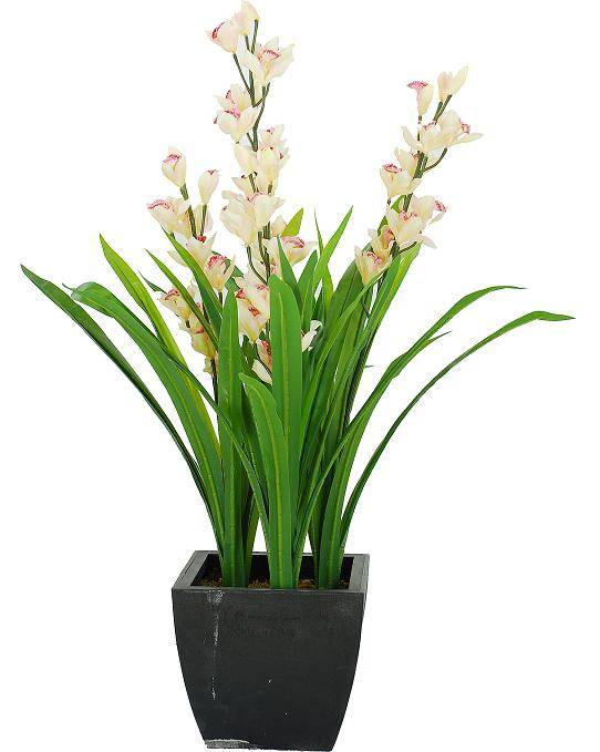 wholesale newest indoor/outside artificial orchid flower, higher quality