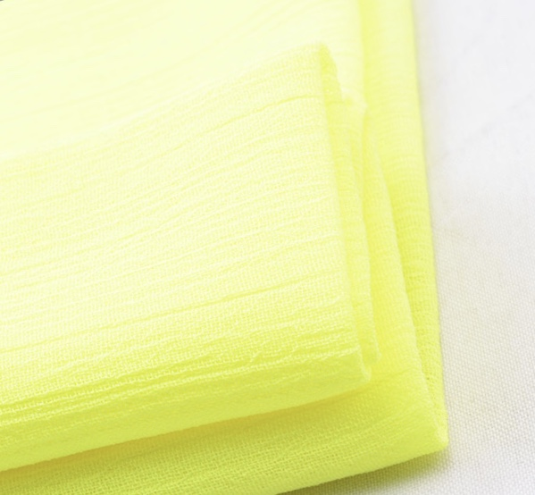 Woven 100% polyester 100D crinkle chiffon fabric