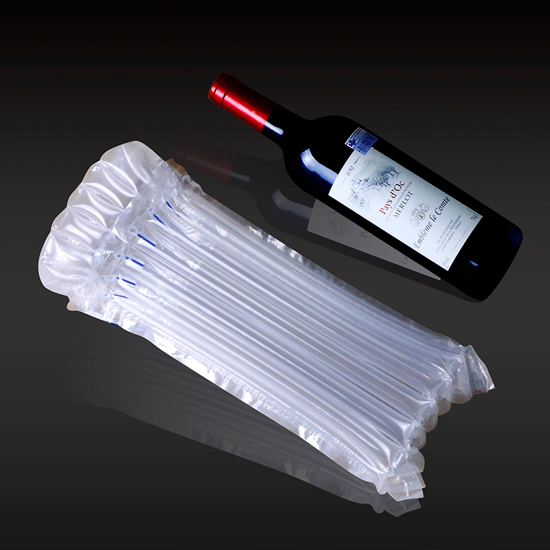 Wine bottle protection plastic Air inflatable bags
