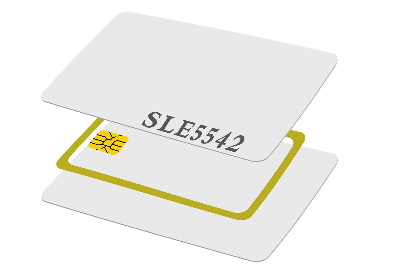 SLE5542 contact card