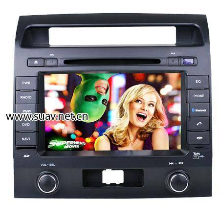 TOYOTA Land cruiser special DVD Player GPS navi TV bluetooth IPOD RDS in car