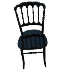 wood chateau chair