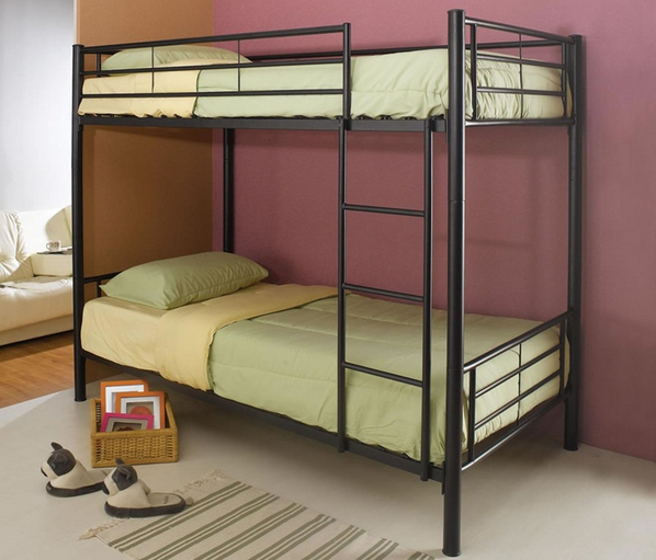 High quality cheap steel dorm bunk bed for sale for kids