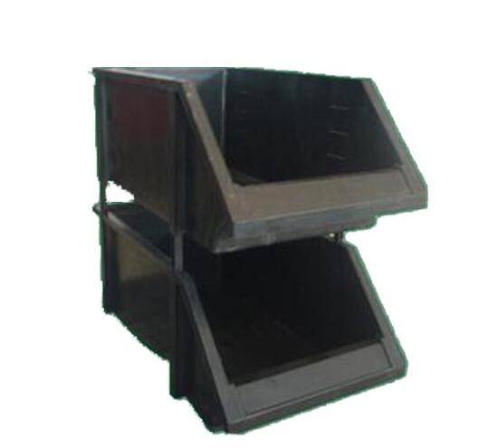 ESD mounted bin black color