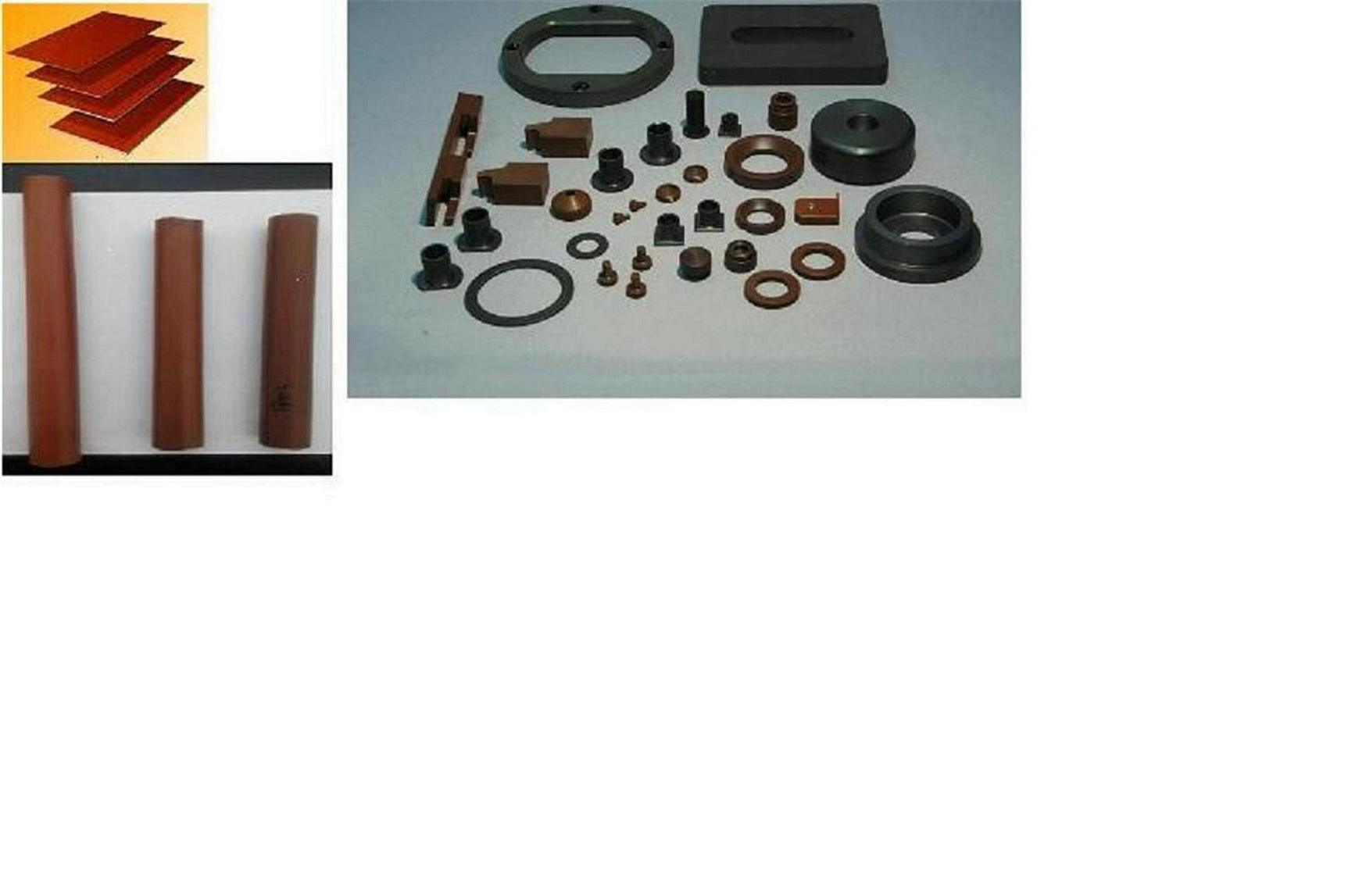 Polyimide Parts (plate, rod, tube, etc.)