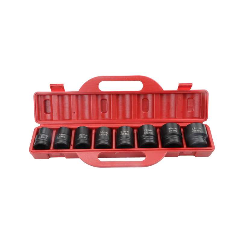 8pcs 3/4 Inch Drive impact deep socket set