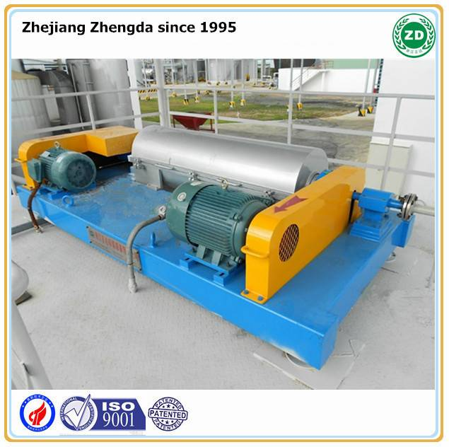 Poultry farm manure solid and liquid slurry Separating Centrifuge