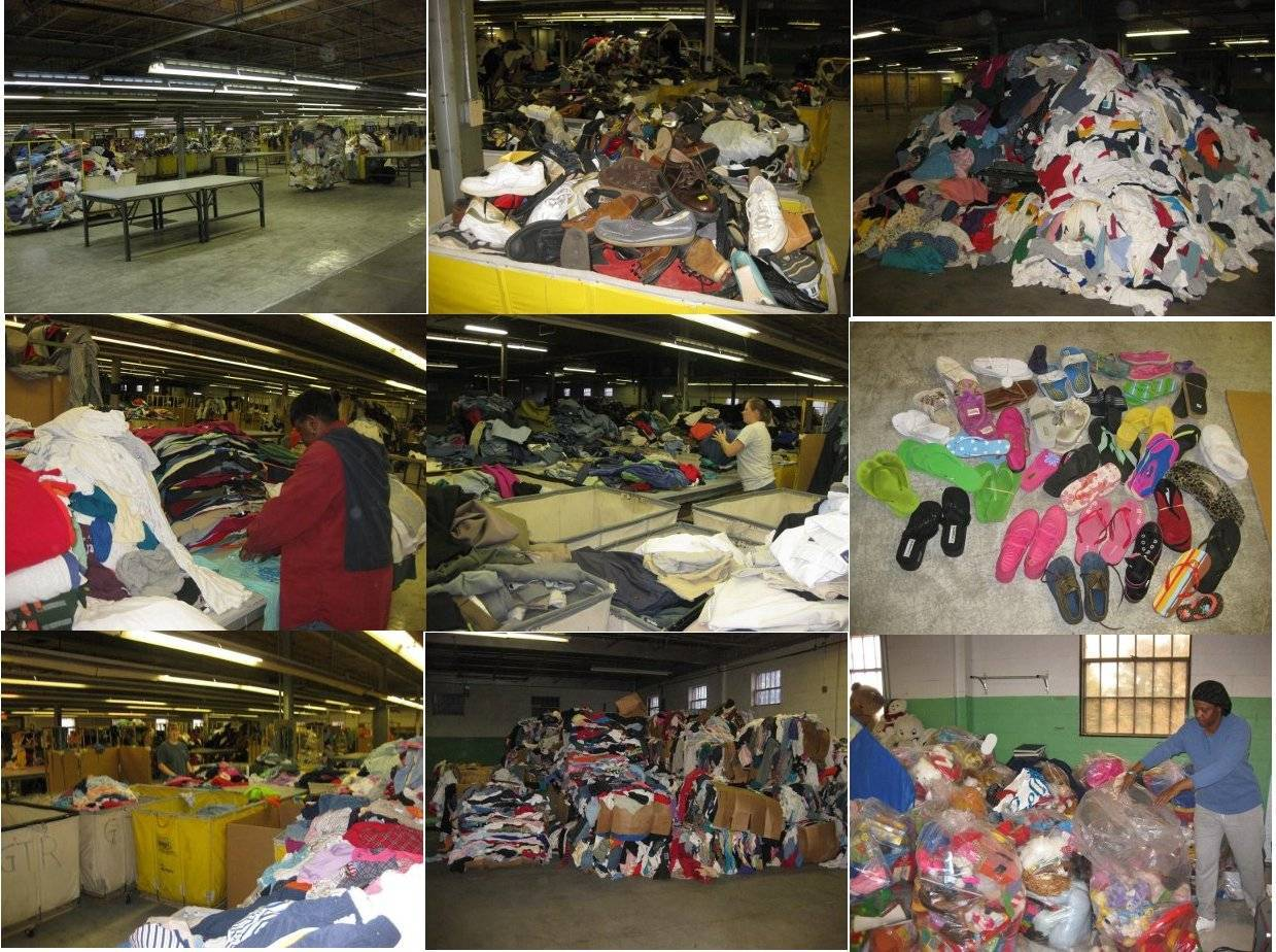 American Clean Sorted Used Clothes