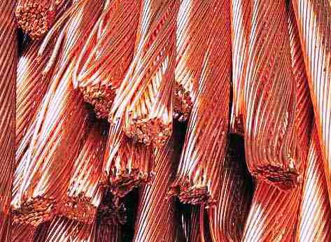 Copper scrap and aluminium copper wire scrap