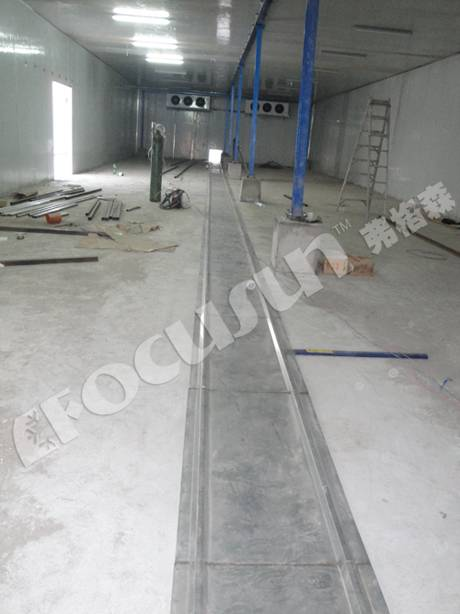 250tons cold room, large cold room