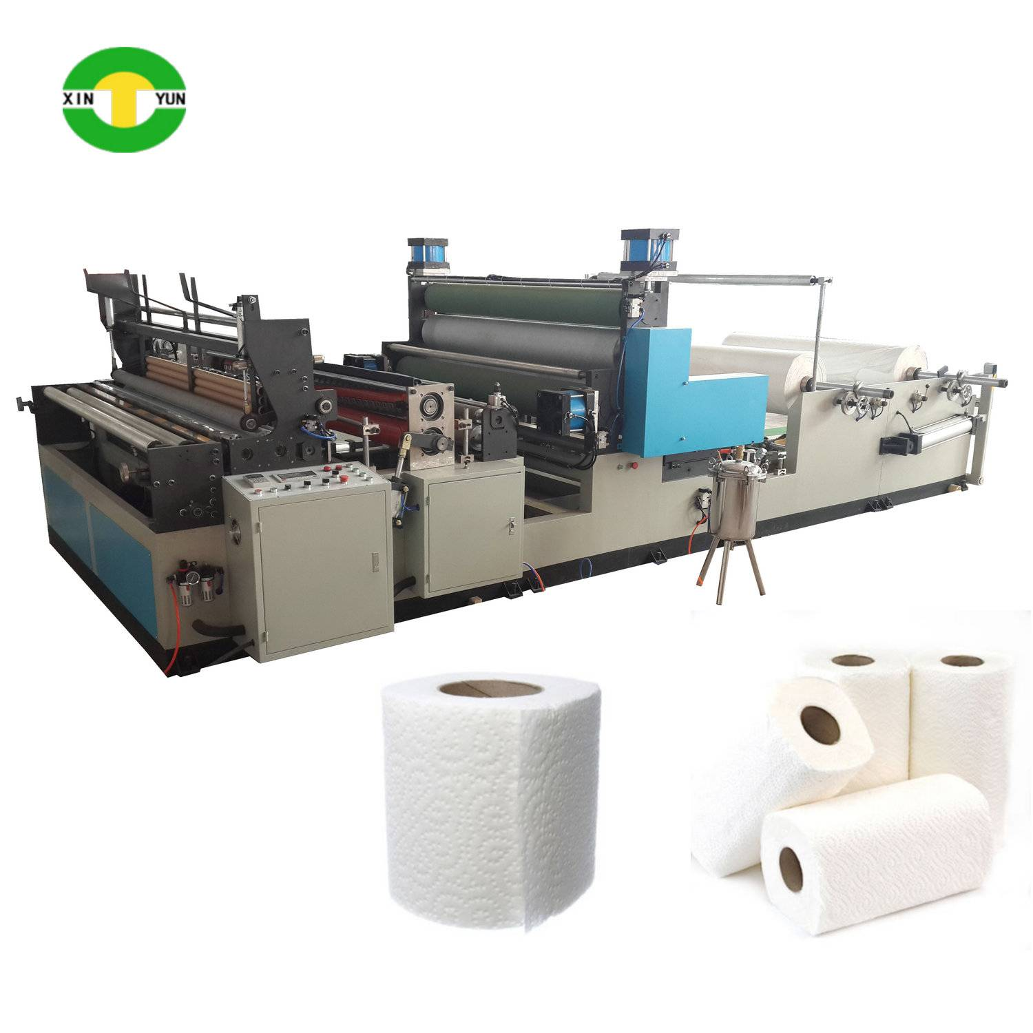 1575mm automatic tissue kitchen paper rewinding making machine