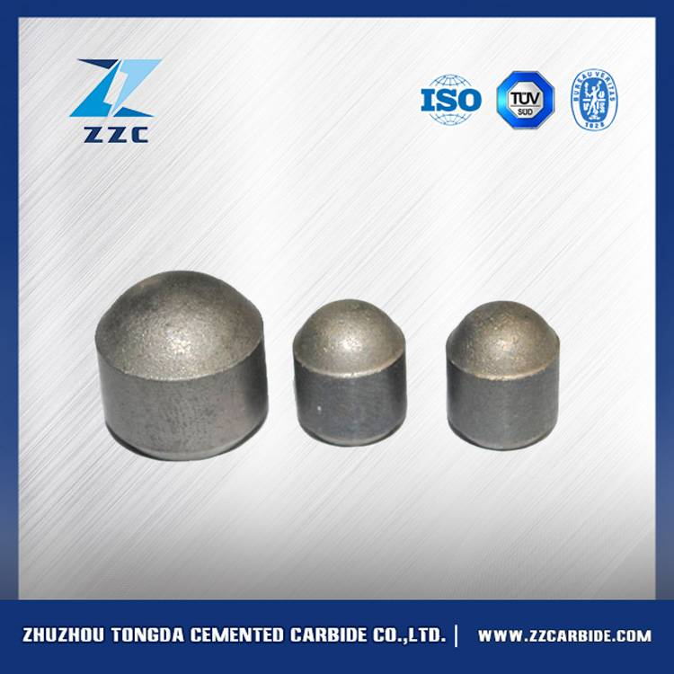 tungsten carbide drill button