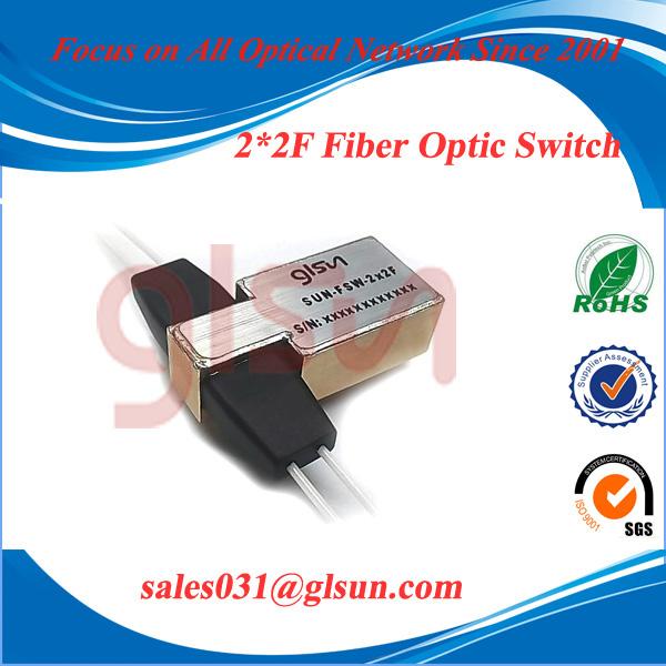 GLSUN 2×2F Fiber Optical Switch