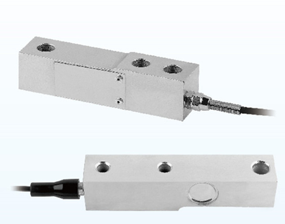 Small cantilever type weighing sensor