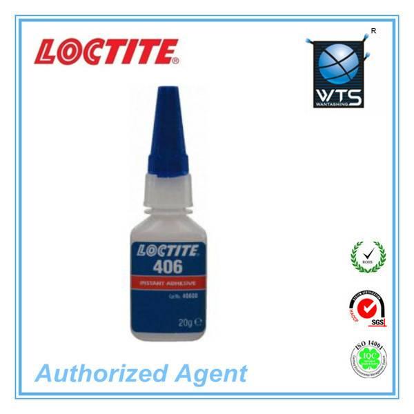 Henkel Loctite 406 Low Viscosity Transparent Cyanoacrylate Super Glue for Inert Materials