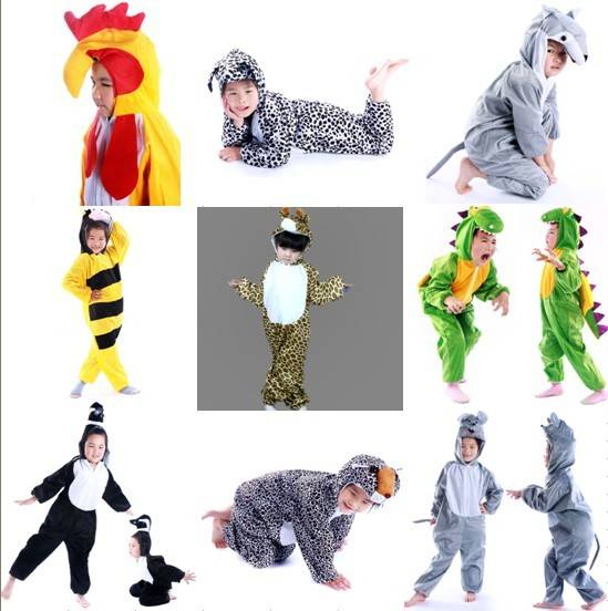 Animal Onesies Kids Unisex Kigurumi Cosplay Costume Pyjamas Pajamas Low price
