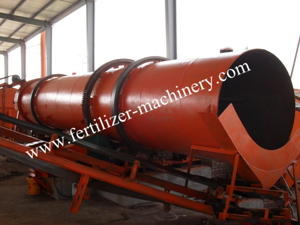 Organic Fertilizer Production Line|30,000 Tons/year Rotary Drum Granulator Production Line