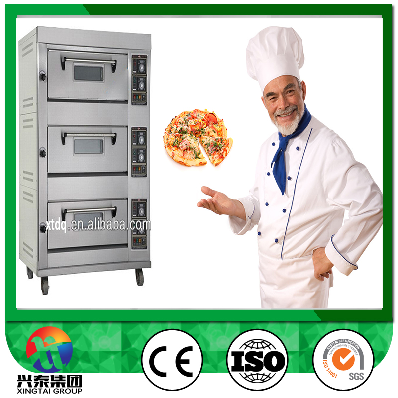 Cheap Price Industrial Gas conveyor Pizza Oven stone
