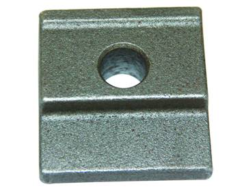 track clamp plate