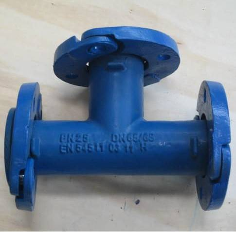 EN545 Ductile iron pipe fittings