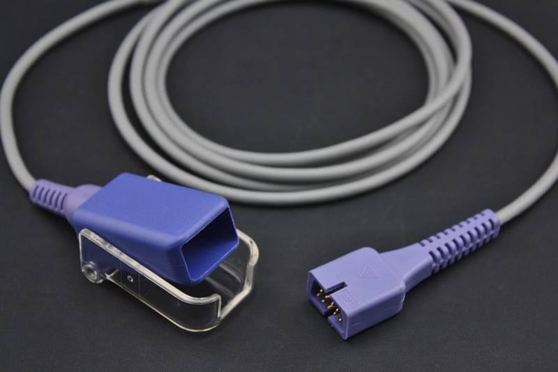 SpO2 Adapter Cable Compatible Nellcor Oximax/Non-Oximax Patient Pulse Sensor