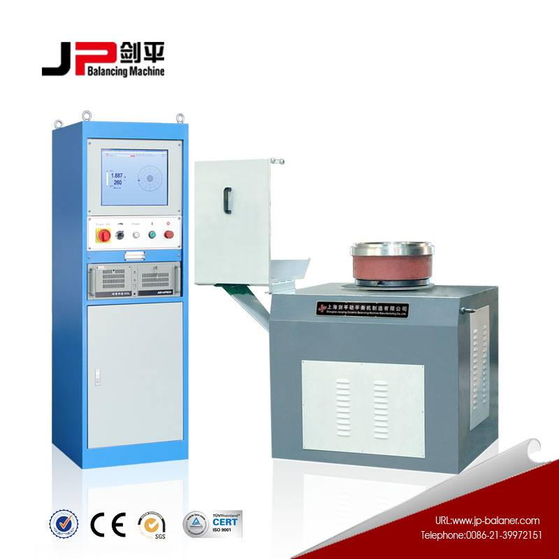 The best perforated brake discs dynamic balancing machine from China
