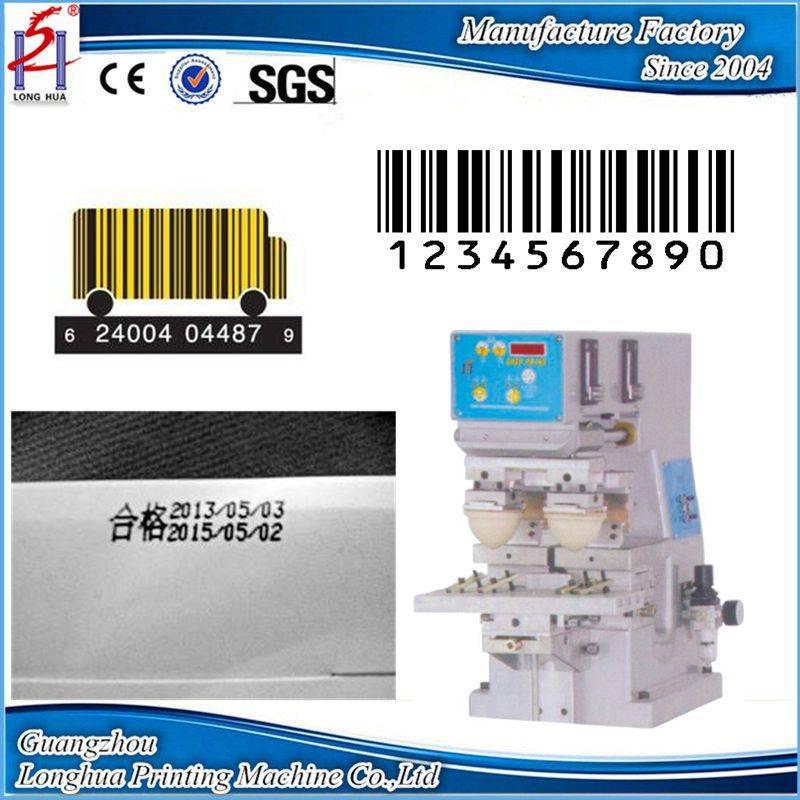 2 colors MINI pad printing machine mini pad printers