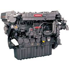 New Yanmar 6AYM-WGT Marine Diesel Engine 911HP