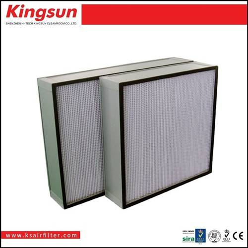 Industral high efficiency stainless steel air filter manufacturing