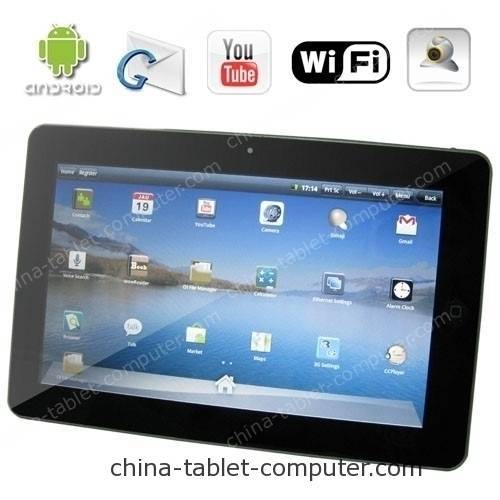 10.1 Inch Super pad - Android 2.1 Tablet PC Support GPS + 3G