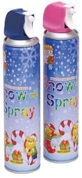 snow spray for party