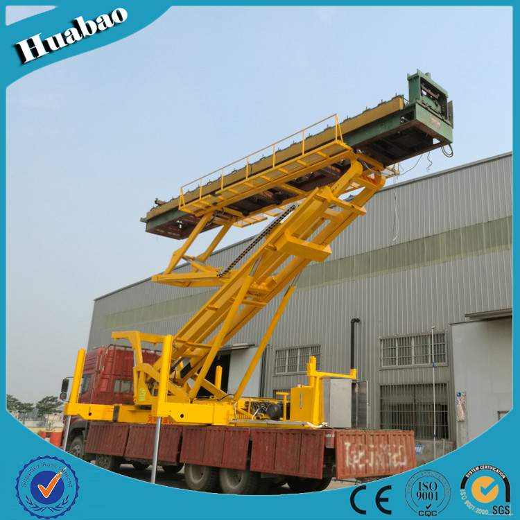 8T 12m high quality customized size multifunctional lifting platform ISO9001:2008