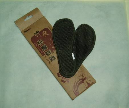 bamboo charcoal shoes insole for child