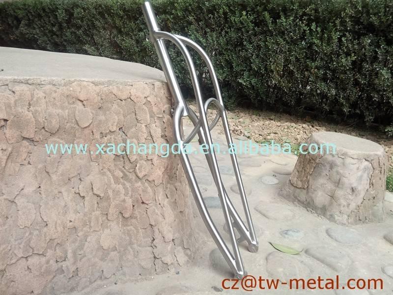 XACD made Titanium cruiser bicycle road bike front fork titanium truss fork with disc brake