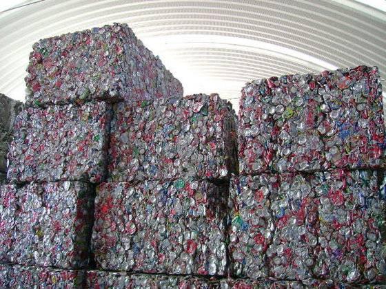 Aluminium used beverage cans scrap