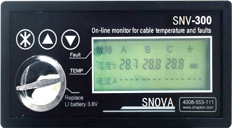 SNV-300 On-Line Moniter for Cable Temperature & Faults