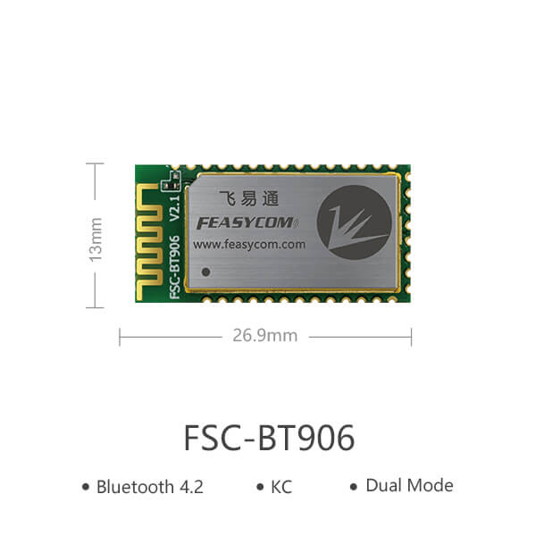 CSR8811 FSC-BT906   Bluetooth Data and Audio Transceiver Module
